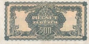 500 złotych 1944, ...owe - ser. PC, rzadka seria