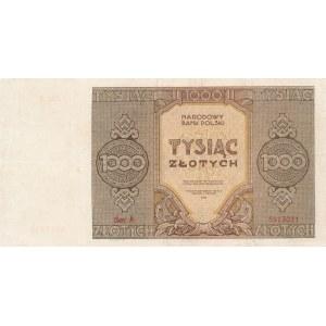1000 złotych 1945 - ser. A