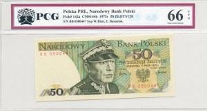 50 złotych 1975, K. Świerczewski - seria BB 0500447