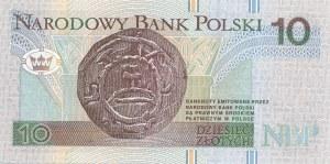 10 złotych 1994, druk TDLR Londyn, AA 0037703