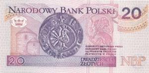 20 złotych 1994, druk TDLR Londyn, AA 0023963