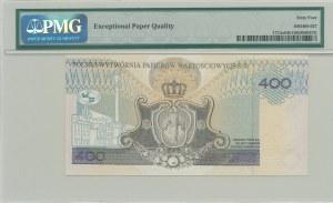 PWPW, 400 złotych 1996 - AB - WZÓR na awersie