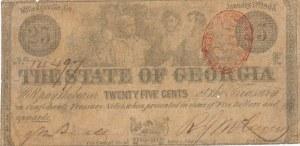 Stany Zjednoczone Ameryki (USA), 25 centów 1863, Georgia