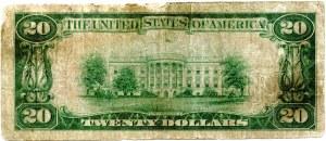 USA, 20 dollars 1929, National Currency, Hibbing, Minnesota, #5745