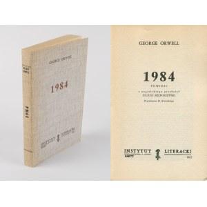 ORWELL George - 1984 [Paryż 1983]