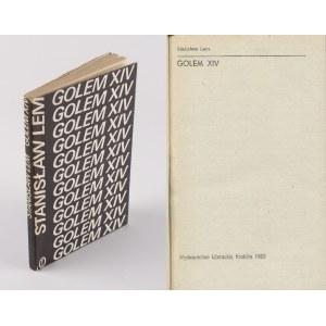 LEM Stanisław - Golem XIV [wydanie pierwsze 1981]