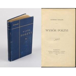 TETMAJER Kazimierz - Wybór poezyi [wydanie pierwsze 1897]