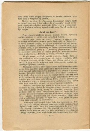 [antysemityzm] WIERCZAK Karol - Dwa światy [1937]
