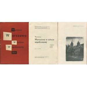 Warszawa w sztuce współczesnej. Malarstwo - grafika - rzeźba [katalog wystawy 1959]