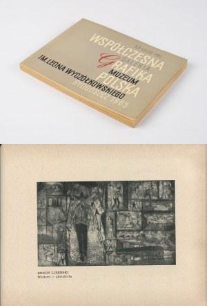 Współczesna grafika polska [katalog wystawy 1965]