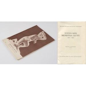 KUNA Henryk - Wystawa rzeźb [katalog 1956]