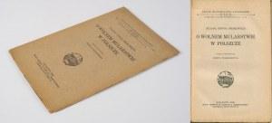 NIEMCEWICZ Julian Ursyn - O wolnem mularstwie w Polszcze [1930] [masoneria, wolnomularstwo]