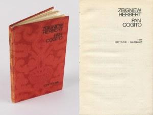 HERBERT Zbigniew - Pan Cogito [wydanie pierwsze 1974]