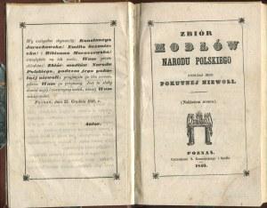Zbiór modłów narodu polskiego podczas jego pokutnej niewoli [Poznań 1849]