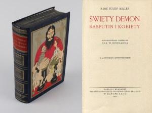 FULOP-MILLER Rene - Święty demon Rasputin i kobiety [1932] [oprawa wydawnicza]