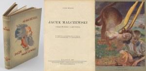 HEYDEL Adam - Jacek Malczewski. Człowiek i artysta [1933] [oprawa wydawnicza]