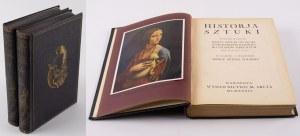 HAMANN Ryszard - Historja sztuki. Dzieje sztuki od epoki starochrześcijańskiej do czasów obecnych [1934] [oprawa wydawnicza]