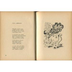 GAŁCZYŃSKI Konstanty Ildefons - Wiersze [1946] [il. Jan Knothe]