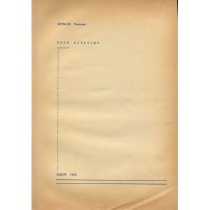 JĘCZALIK Tadeusz - Tych dziesięć [druk konspiracyjny 1942]