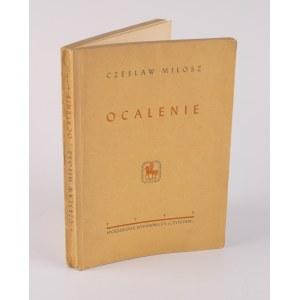MIŁOSZ Czesław - Ocalenie [wydanie pierwsze 1945]