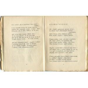 PRZYSIECKI Feliks - Śpiew w ciemnościach [1921] [okł. Tadeusz Gronowski]