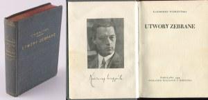 WIERZYŃSKI Kazimierz - Utwory zebrane [1929]