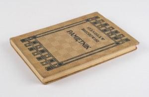 BRZOZOWSKI Stanisław - Pamiętnik [wydanie pierwsze 1913] [oprawa wydawnicza]