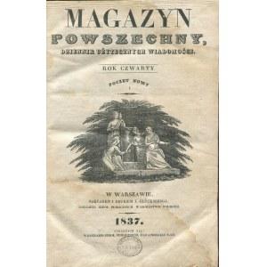 Magazyn Powszechny. Dziennik Użytecznych Wiadomości [pełny rocznik 1837]