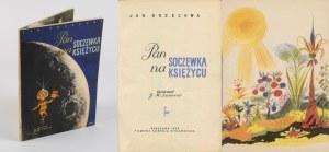 BRZECHWA Jan - Pan Soczewka na księżycu [wydanie pierwsze 1959] [il. Jan Marcin Szancer]