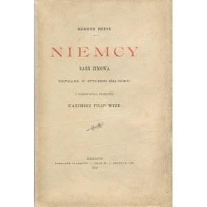 HEINE Henryk - Niemcy. Baśń zimowa napisana w styczniu 1844 roku [wydanie pierwsze 1897]