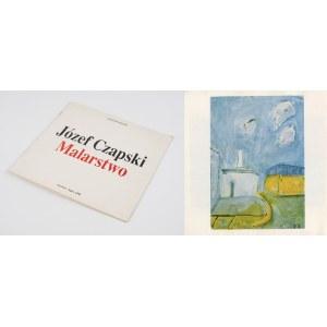 CZAPSKI Józef - Malarstwo [katalog wystawy 1990]