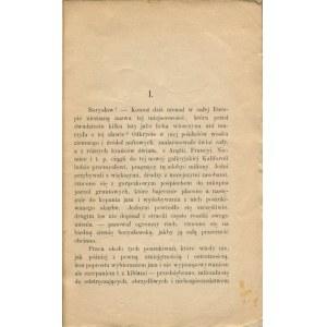 MILEROWICZ Alojzy - Kapitan borysławskich koczynierów. Zdarzenia prawdziwe z dziejów kopalń naftowych w Borysławiu [Krosno 1891]