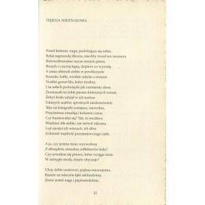 MIŁOSZ Czesław - Druga przestrzeń [wydanie bibliofilskie]