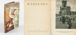 Warszawa - Album zdjęć z lat 40. [okł. Jan Marcin Szancer]