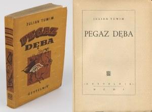 TUWIM Julian - Pegaz dęba [wydanie pierwsze 1950] [okł. Maria Orłowska]