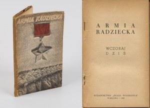 Armia Radziecka wczoraj i dziś [1948] [okł. Mieczysław Berman]