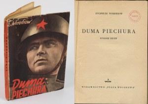 WOROBIOW Eugeniusz - Duma piechura [1950] [okł. Mieczysław Berman]