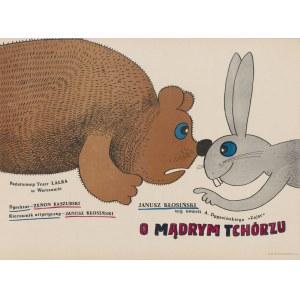 plakat BUTENKO Bohdan - O mądrym tchórzu [1985]