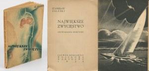 ZALESKI Stanisław - Największe zwycięstwo. Opowiadania sportowe [1933] [Atelier Girs-Barcz]