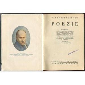 SZEWCZENKO Taras - Poezje [1936]