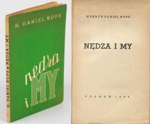 ROPS Henryk Daniel - Nędza i my [1938] [okł. Wł. Witold Spychalski]