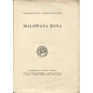 SAMOZWANIEC Magdalena - Malowana żona [1925] [okł. Edmund Bartłomiejczyk]