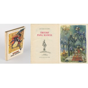 BRZECHWA Jan - Tryumf pana Kleksa [wydanie pierwsze 1956] [il. Jan Marcin Szancer]