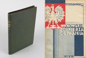 SOSABOWSKI Stanisław - Wychowanie żołnierza-obywatela [1931]