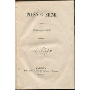 POL Wincenty - Pieśń o ziemi. (Powtóre) [1859]