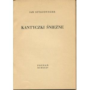 SZTAUDYNGER Jan - Kantyczki śnieżne [1935]