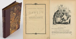 GALIŃSKI Franciszek - Gawędy o Warszawie [1937]