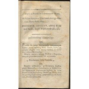 [Księstwo Warszawskie] Dziennik praw. Tom 2 [1810]
