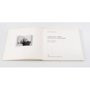 KALCZYŃSKA Alina - The art of the book. L'Arte del libro [AUTOGRAF]