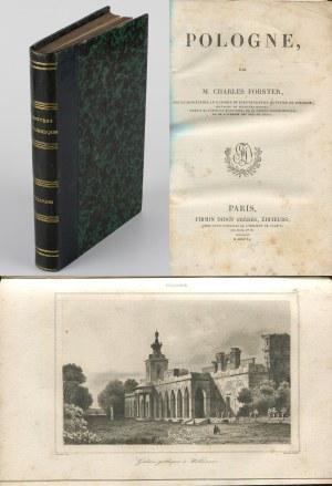 FORSTER Charles - Pologne [1840] [historia Polski z 55 stalorytami]